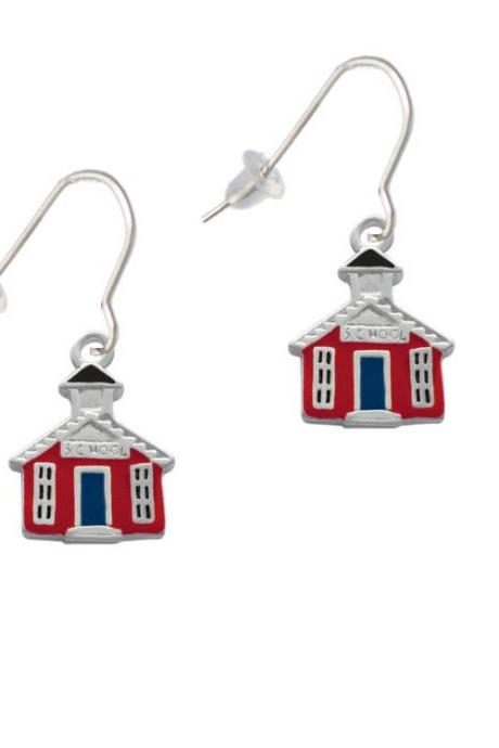 Red School House French Earrings